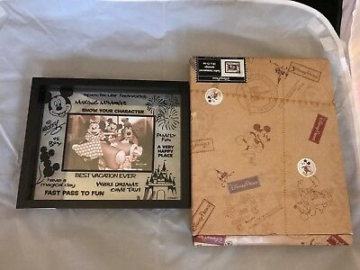 Disney Parks Picture Frame Collectible