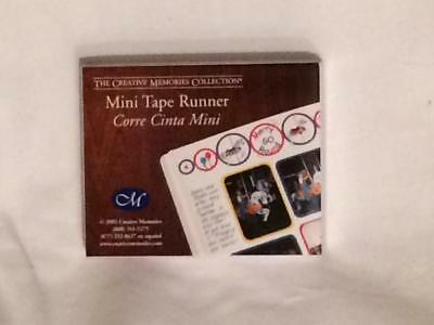 Creative Memories Mini Tape Runner 20 Feet Double Sided Adhesive Refillable NIP