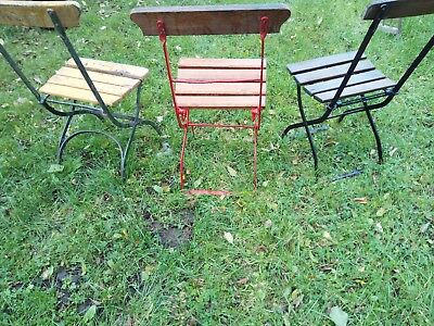 Antique/Vintage wrought iron folding garden/house chairs