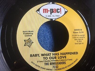 northern THE RINGLEADERS - BABY,WHAT HAS HAPPENED TO OUR LOVE plus ALL OF MY LIF