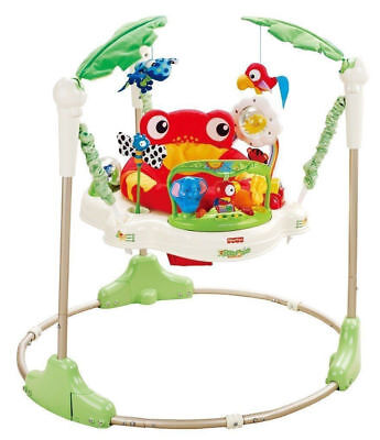 Fisher Price Jumperoo Rainforest Bouncer Baby Toy Activity Jumping Base Only!