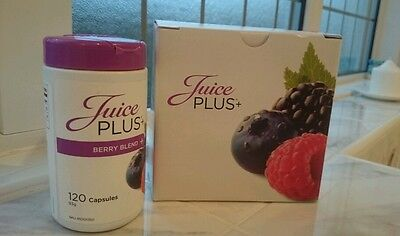 Juice Plus Berry Blend Capsules 120  new sealed * BB 2019 * RRP £42