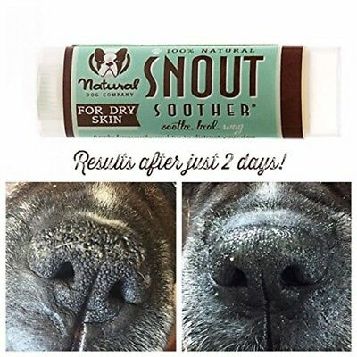 SNOUT SOOTHER Travel Stick - Dry Chapped Cracked and Crusty Dog Nose Remedy