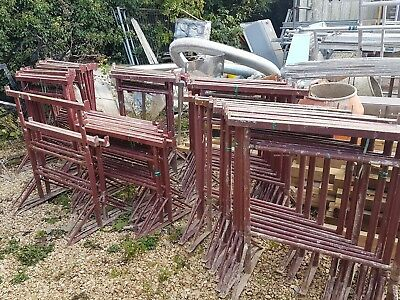 Builders trestles no2 no3 in used condition 47x number 3 and 9x number 2