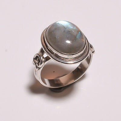 925 Solid Sterling Solid Silver Ring With Labro (IHD)