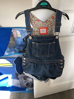 Mini Boden Girls Dungarees age 4-5