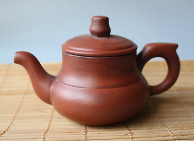 Collection Marks Chinese Yixing Zi sha Boutique handwork Carved Kung Fu teapot