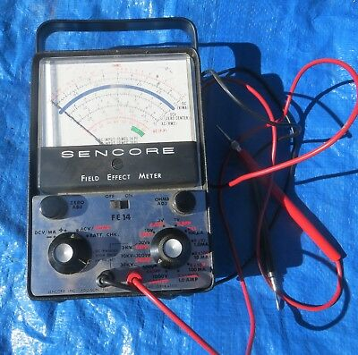 Sencore Field Effect Meter FE 14 GREAT CONDITION