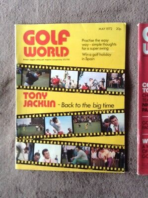 Golf World Magazines May And June 1972