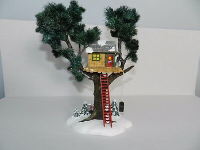 Department 56 Treetop Tree House 5489-0 Damaged