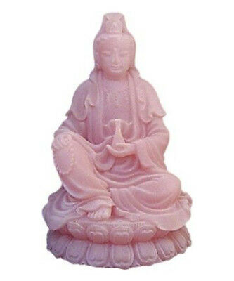 Quan Yin Statue Goddess of Mercy and Compassion PINK Feng Shui