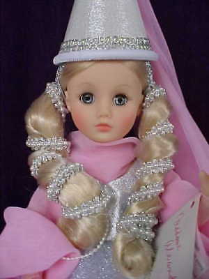 """Madame Alexander 14"""" Fairy Godmother in Pink & Silver Different Version 1991"""