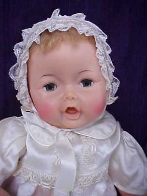 Vintage Ideal Adorable Yawning Baby YTT-23-L-5 1950's/60's