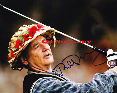 "Bill Murray ""CaddyShack""  autographed 8x10 photo RP"