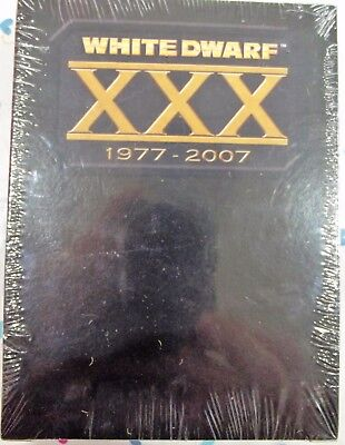 WARHAMMER WHITE DWARF XXX 30th ANNIVERSARY UNOPENED BOX SET