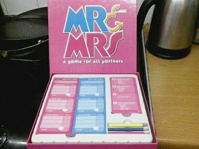 Mr and Mrs Board Game, A Game for all partners - Upstarts FREE P&P