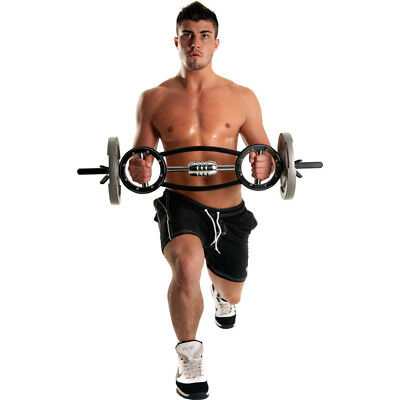 Fitness Mad - THE UNIVERSAL 10Kg BARBELL - Bodybuilding Barbells Weight Training