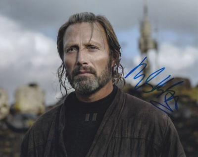 Mads Mikkelsen (Star Wars Rogue One) autographed 8x10 photo RP