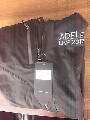 Official Adele Crew tour Jacket NEW 2017 Size Large