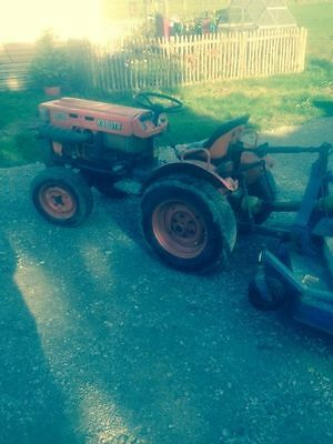 4x4 compact tractor & topper mower