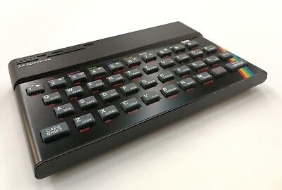 8 bit vintage Sinclair Zx Spectrum with box.