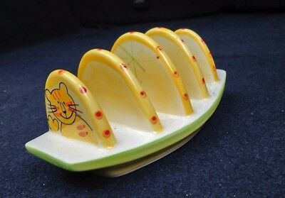 Ceramic Toast Rack - cat theme