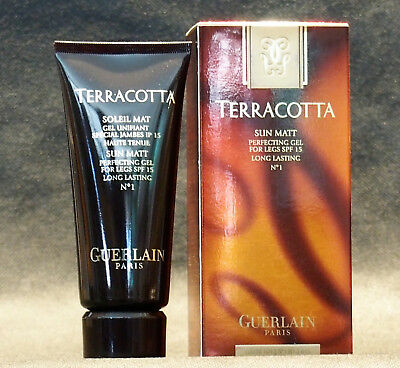 TERRACOTTA SUN MATT GUERLAIN PERFECTING GEL FOR LEGS N° 1 104g/NET WT 3.6 OZ.