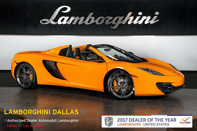 2013 McLaren MP4-12C  331K MSRP!+NAVIGATION+STEALTH PACK+CARBON FIBER+SPRT EXHAUST+MERIDIAN SOUND