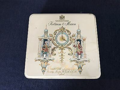 Vintage Fortnum & Mason Assorted Biscuits Tin Piccadilly London England