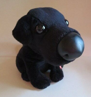 Plush Black Lab Dog Pup Sings 'I'm Mr. Lonely' with Movement