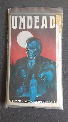 steve jackson games undead and raid on iran collectable