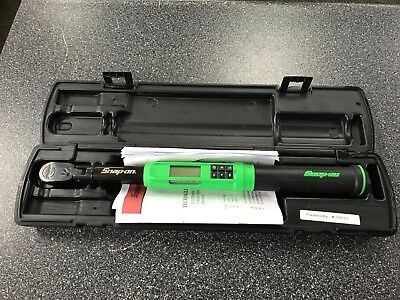 "SNAP-ON ATECH2F100VG 3/8"" Drive Flex-Head TechAngle Torque Wrench - GREEN"