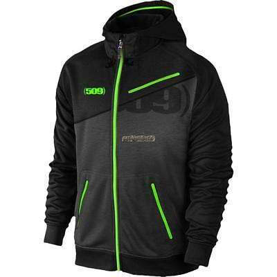 509 Mens Tech Zip Hoody -Black/ Lime