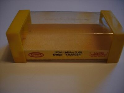 Aurora #1407 Dodge Charger Box And Label Only