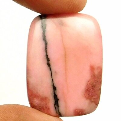 49.90 cts Natural Designer Rhodonite Gemstone Octagon Loose Cabochon For Jewelry