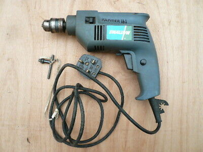 SWALLOW 240 v REVERSIBLE HAMMER DRILL WITH 1.5 - 10 mm CHUCK - WORKING