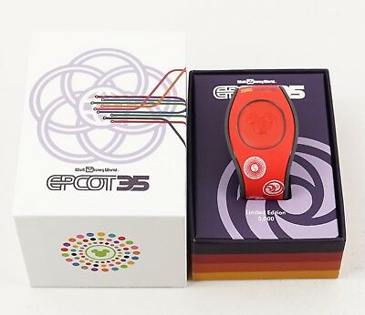 NEW Disney Epcot 35 Anniversary Red MagicBand 2 LE 5000 Figment