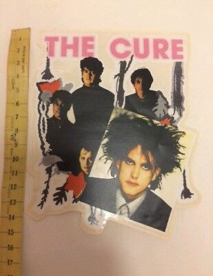 Adesivo Vintage The Cure