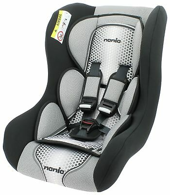 TT Nania Trio Car seat Group 0-1-2 Birth 0-25kg Forward & Rear Facing Pop Black