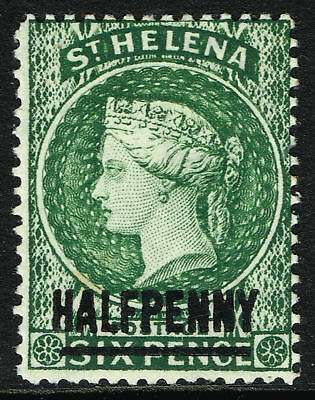 Sg 36 St. Helena 1893 - Halfpenny Green - Mounted Mint