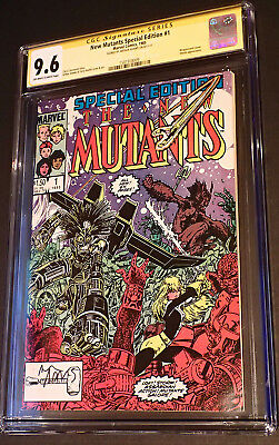 New Mutants Special Edition #1 (1985) CGC 9.6 NM+ Signed Arthur Adams
