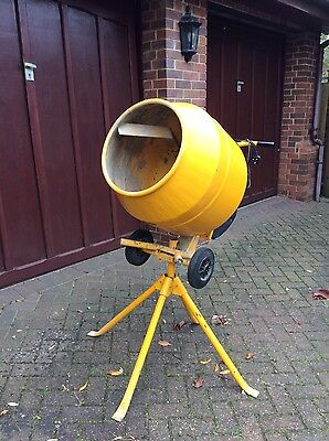 Belle 130 Electric 240v Concrete Cement Mixer