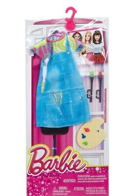 BRAND NEW Barbie Fashions Artists Outfit