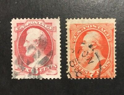 TDStamps: US Stamps Scott#148 149 (2) Used CV$125.00