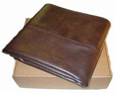 Imperial Brown 7 ft Fitted Leatherette Pool Table Cover