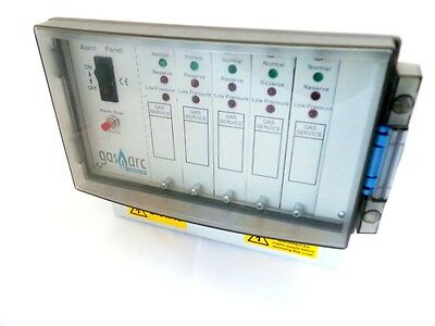 Gasarc Gcso3005 Visible And Audible Alarm Panel (Five Gas Channels)