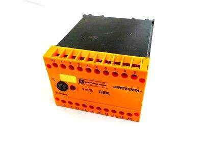 Telemecanique Gekb230Vac Safety Relay 230Vac