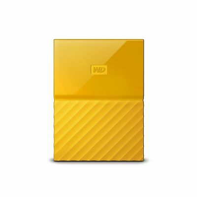 WD 2TB Yellow My Passport Portable External Hard Drive - USB 3.0 - WDBYFT0020...