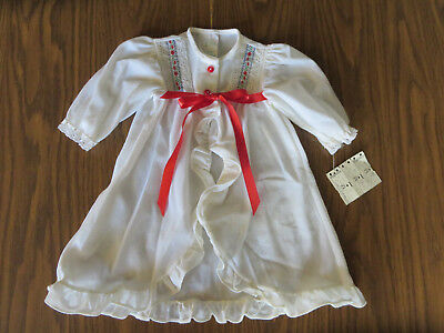 Vintage Baby Gown NOS