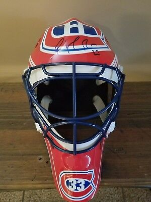 Full Size Replica Autographed Patrick Roy Mask